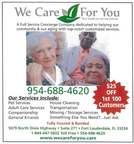 We care promotion ad